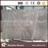 Laje de mármore cinzenta Multicolor barata chinesa para telhas de revestimento
