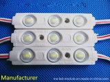 2 LEIDENE van de Injectie 3chips 5730 van de Garantie DC12V jaar van de Module