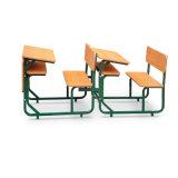 Escritorio doble de la escuela con la silla (G3185)