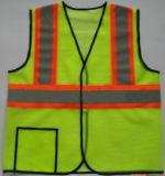 Chaleco reflexivo de la seguridad del alto Workwear de la visibilidad