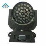 LED 36*10W 이동하는 맨 위 가벼운 세척 빛 급상승 단계 빛