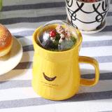Caneca cerâmica original do copo de café da venda quente com tampa