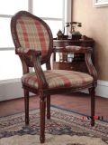 Деревянный стул твердой древесины мебели с подлокотником