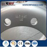 Bordas de aço sem câmara de ar inoxidáveis 7.50-20 da roda do barramento do caminhão