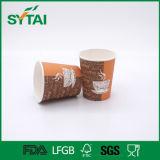 Taza de papel disponible ambiental del precio barato para la bebida caliente del café del té