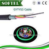 Câble blindé échoué de tube desserré (GYTY53)