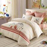 Conjunto de cama de algodão 100% algodão