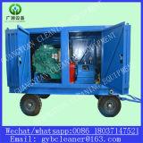Sistema que echa en chorro del agua para el equipo de la limpieza del tubo del condensador