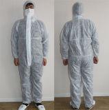 Bata no tejida de la tela de Spunbond/ropa protectora disponible