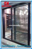 Patio francés exterior/puerta de plegamiento interior del vidrio Aluminium/Aluminum/UPVC/PVC Sliding/Bi (KDSS005)