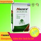 fertilizante de planta del polvo de 20-10-30+Te NPK con el alimento de oligoelementos