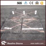 床および壁のタイルのための安いピンクの真珠の灰色の大理石の平板
