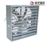 Ventilator van de Uitlaat van de Ventilatie van het Blind van het gevogelte de Automatische/de Muur Opgezette Ventilator van de Uitlaat van het Gevogelte met Blind