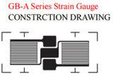 Calibrador de tensión linear dual del modelo de la hoja de las karmas