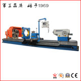 Сверхмощный горизонтальный Lathe CNC для подвергать механической обработке стального крена (CG61160)