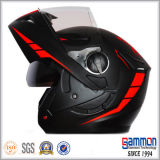 차가운 백색 기관자전차 모듈 헬멧 (LP504)