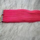 Nenhum pacote humano Tangled da fita do cabelo de Remy