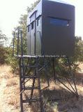 Auto - torre de aço de apoio do relógio da estrutura da observação do protetor