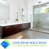 Vanità di ceramica della stanza da bagno del bacino di Undermount di rivestimento del legno di colore della melammina
