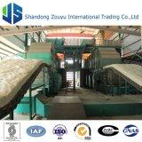 cadena de producción de la manta de las lanas de la fibra de cerámica 10000t