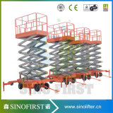 2016 levage hydraulique de ciseaux de plate-forme du poids léger 1ton