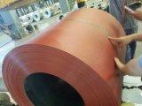 La bobine en acier enduite d'une première couche de peinture/couleur enduite a galvanisé la bobine en acier
