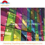 Farbe Flat Tempered Laminated Glass mit Ce/ISO9001/CCC Certification