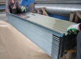 Feuille en acier galvanisée de toiture ridée par vente chaude en Afrique
