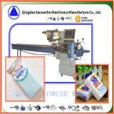 Machine à emballer automatique de la Laver-Mousse Swsf-450 à grande vitesse horizontale