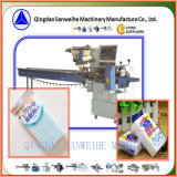 Swsf-450 Máquina de embalaje automática de alta velocidad de lavado-espuma horizontal