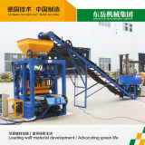 Niedrige Kosten-wasserdurchlässige Ziegelstein-Maschine Quart 4-24 in Afrika