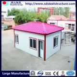 Dos de almacenamiento Inicio prefabricada Porta cabina de contenedores casa para la venta