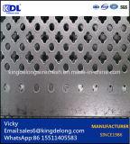 Strato perforato galvanizzato della maglia del metallo