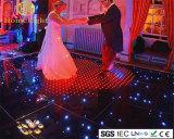 Le vidéo imperméable à l'eau acrylique le plus neuf de P10cm RVB DEL Dance Floor pour l'exposition d'étape de club de mariage d'usager de vacances