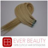 女性のための100%年のRemyの毛の拡張のマイクロテープ