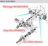 Distanziatore mezzo /Shim 29070000381 dell'attrezzo dell'asse di Prats del caricatore di Sdlg LG956 LG958 LG968