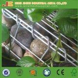 Parede de retenção de pedra soldada de Gabion da gaiola do jardim de China paisagem por atacado