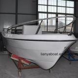 Barge de travail de fibre de verre de bateau de pêche professionnelle de Liya 5.1m à vendre