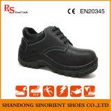 Ботинки работы ботинок безопасности Split кожи коровы хорошего качества