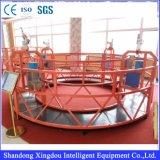 Портативным гидровлическим воздушным вертикальным ая алюминием платформа работы