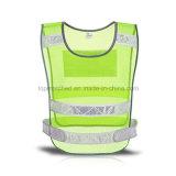 Veste reflexiva de pouco peso do corredor do engranzamento 3m do Olá!-Vis para o esporte ao ar livre