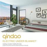 Cobertor elétrico do velo confortável portátil com o temporizador de 12 horas