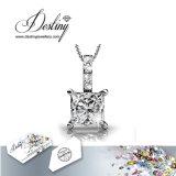 Het Kristal van de Juwelen van het lot van de de Nieuwe Tegenhanger & Halsband van het Vertrouwen Swarovski