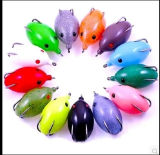 Richiamo morbido di pesca del nero della rana di buona qualità