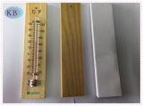 Thermometer -30+50c van de Zaal van de cabine de Houten