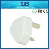 Chargeur BRITANNIQUE R-U de téléphone cellulaire de la fiche USB 5V de qualité