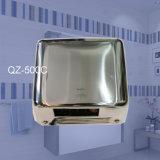 Cepillo de acero inoxidable de alta velocidad Secador de manos