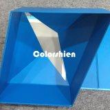 Rectángulo de regalo plegable rojo del embalaje de Cosmtic del papel clásico del color