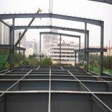 짧은 가설시간을%s 가진 모듈 2층 강철 구조물 사무실 건물