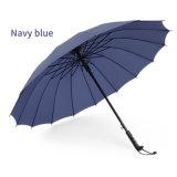 عمل لعبة غولف مظلة مع مقبض مستقيمة قوّيّة متحمّل مظلة مظلة